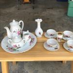 Rose - Tea set
