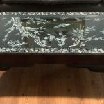 Oriental Coffee Table inlaid with Mother of Pearl