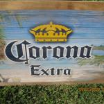 CORONA EXTRA WOOD SIGN