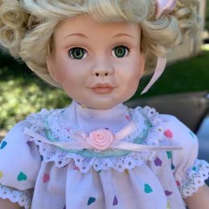 Photo of Introducing Ms. Elizabeth a porcelain doll from paradise galleries.