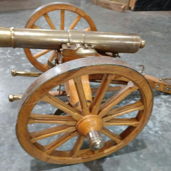 Photo of Black Powder Cannon and Caison