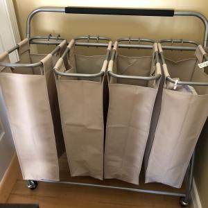 Photo of 4 section laundry basket
