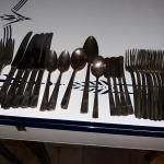 52 pc Silver plated Silverware