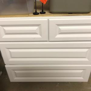 Photo of White cabinets
