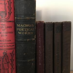 Photo of Books from 1877-1918