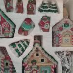 Gingerbread Village,  Carnival and Christmas Village - ceramic