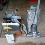 Kirby Vaccum with scrubber & other attachments