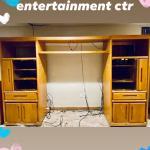 3 piece entertainment center