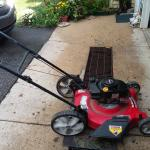Yard machine LAWNMOWER