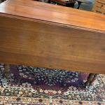 Beautiful Antique Walnut Drop Leaf Gate Leg Table