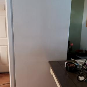 Photo of Side by side refrigerator - in good working order. Water/ice maker