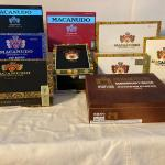MACANUDO empty cigar boxes