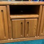 """40"""" Oak Cabinet"""