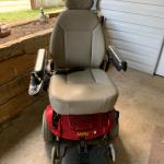 Motorized Jazzy wheelchair
