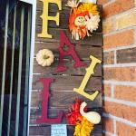 Fall Wooden Pallet Sign