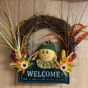 Photo of Scarecrow Wreath
