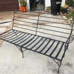 Vintage Woodard 1960 Iron Patio Furniture