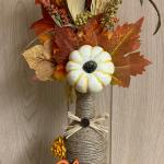 Fall Wine a Bottle Decor Piece