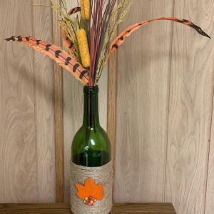 Photo of Wine Bottle Decor Piece