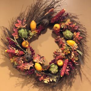 """Photo of 32"""" Fall Wreath"""