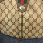 Authentic vintage Gucci crossbody and matching wallet