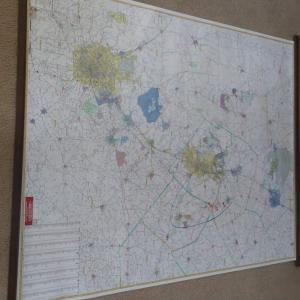 Photo of Laminated wall map