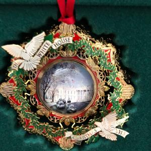 Photo of White House Christmas Ornaments, from 2009 - 2013