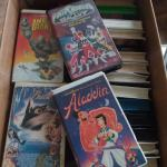 Disney VCR Tapes