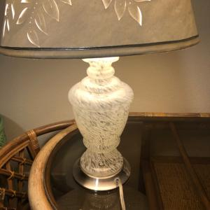 Photo of Glass lamp
