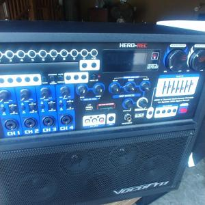 Photo of Professional Voco karaoke System. New