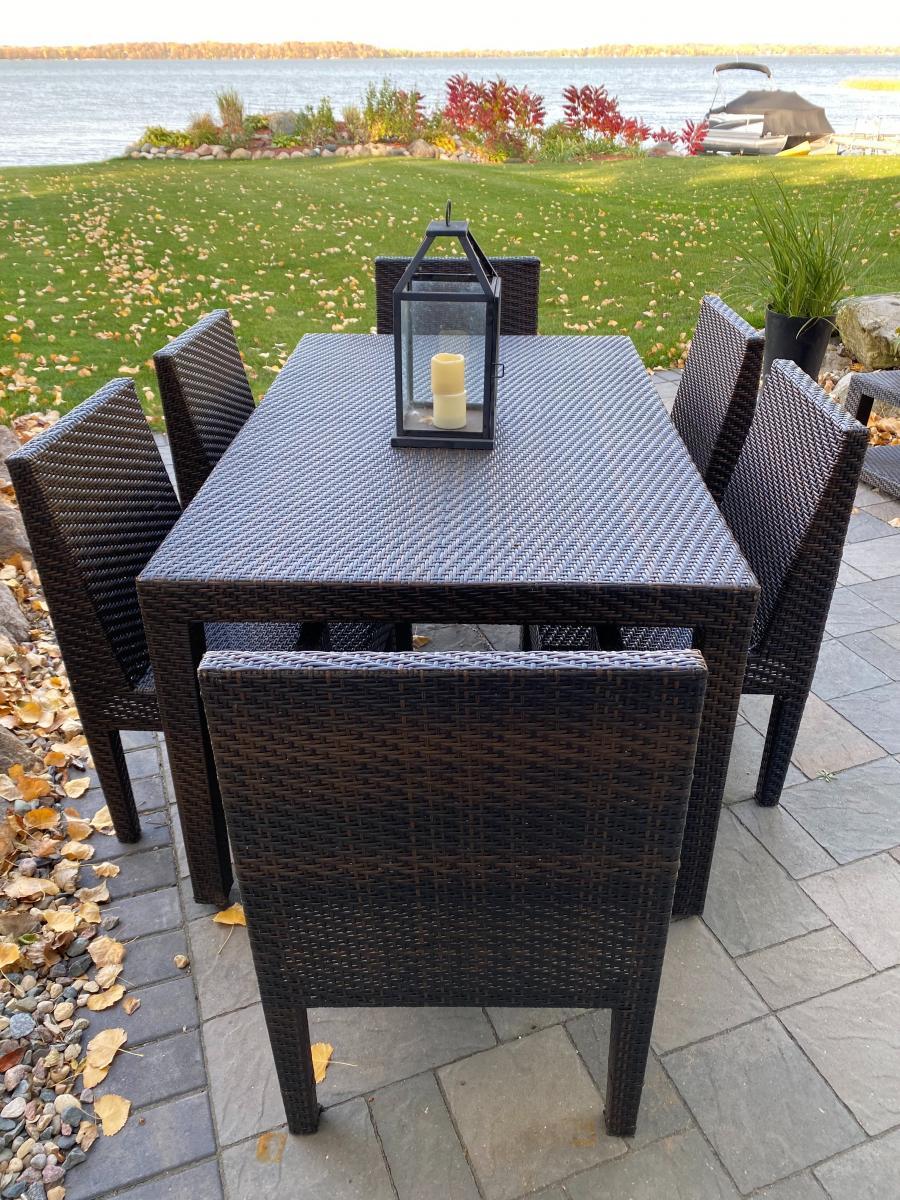 Photo 4 of Dark Brown Outdoor all weather wicker furniture