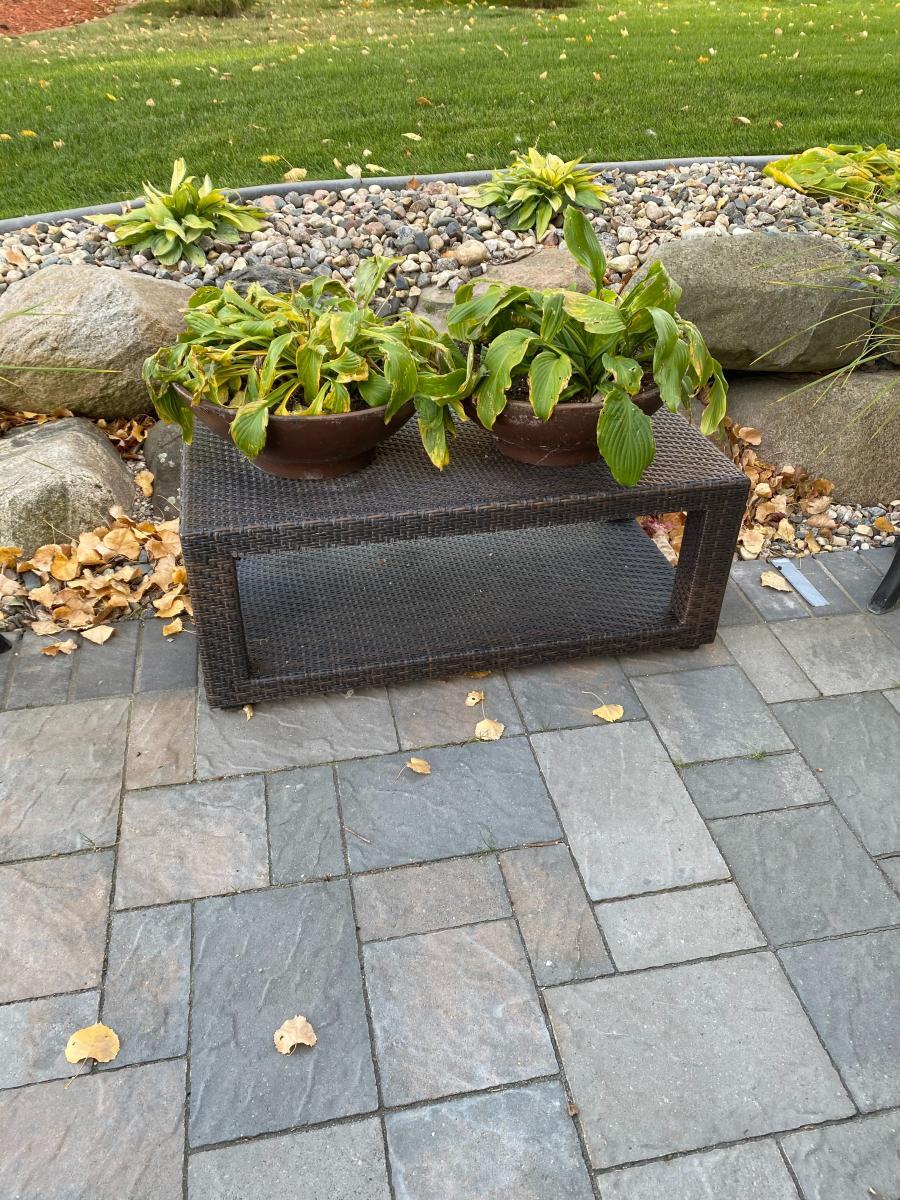 Photo 3 of Dark Brown Outdoor all weather wicker furniture
