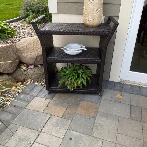 Photo of Dark Brown Outdoor all weather wicker furniture