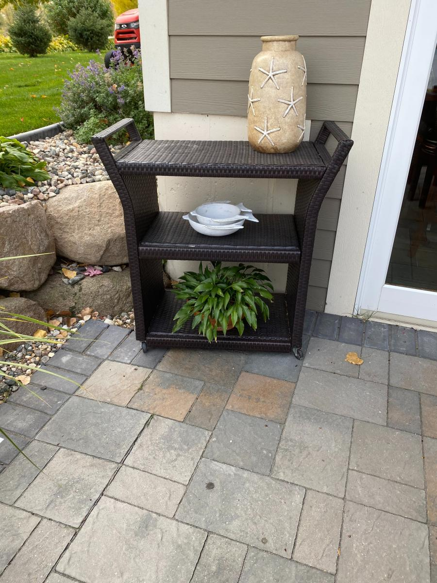 Photo 1 of Dark Brown Outdoor all weather wicker furniture