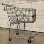 Vintage  Retro Cari-All Grocery shopping Cart