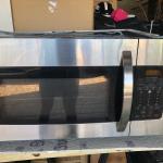 Stainless Steel Kenmore Microwave