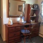 Desk, chair chest and hutch