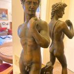 Greek statue of David
