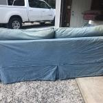 Oversized couch (deep)  $75 / OBO
