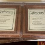 6 new  Solid oak frames