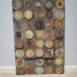 Photo of Wooden Circle Art