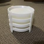 Tupperware pie stackers