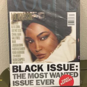Photo of REDUCED - COLLECTOR'S ITEM: Vogue Italia Black Issue