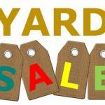 Yard Sale! 10/16 and 10/17