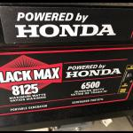 Honda generator used less than 2 hours $850