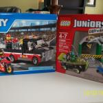 Legos - 1 Junior Ages 4-7, 1- Ages 5-12 NEW