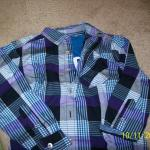 Boy's Long Sleeve Shirt and  T-Shirt Insert     Size S/CH   (6-7) NEW!!