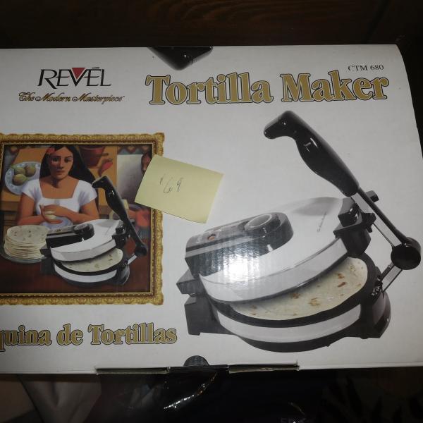 Photo of tortilla maker