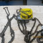 Budgit manual chain hoist 1/2 ton by LiftTech