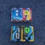 2 3 pack C batteries